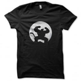 Shirt sangoku en gorille noir pour homme et femme