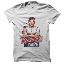 Shirt Dexter Kill Room Cleaner - Blanc pour homme et femme
