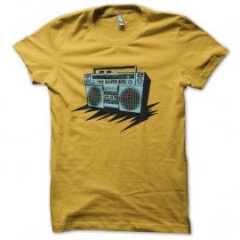 Shirt the Beastie Boys audio jaune pour homme et femme