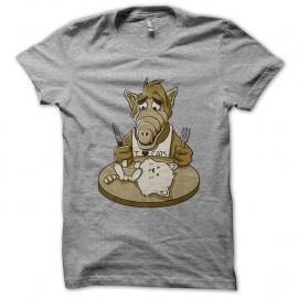 Shirt alf et les chats gris pour homme et femme