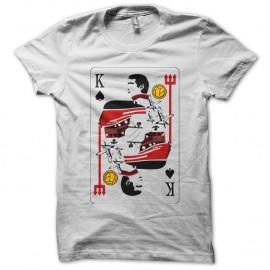 Shirt Eric Cantona le roi en carte blanc pour homme et femme
