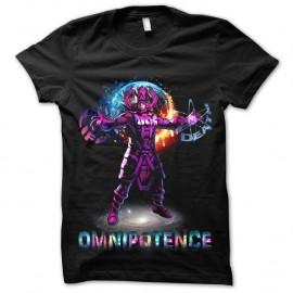 Shirt Omnipotence of galactus noir pour homme et femme