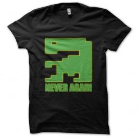 Shirt E.T Never Again noir pour homme et femme