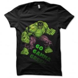tee shrt Hulk Gamma vert pour homme et femme