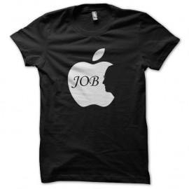 Shirt steve apple job noir pour homme et femme