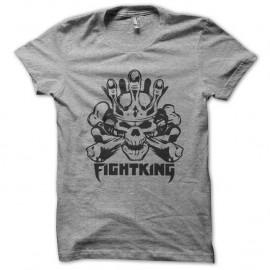 Shirt Fighting MMA noir pour homme et femme