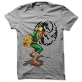 Shirt Iron Fist gris pour homme et femme