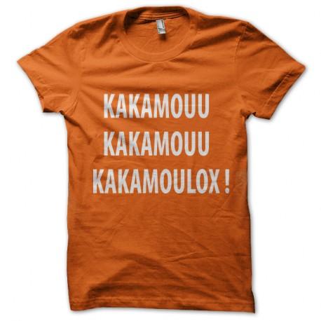 Shirt kamoulox kad et olivier orange pour homme et femme
