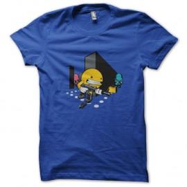 Shirt pacman mode call of duty bleu pour homme et femme