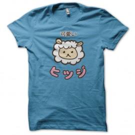 Shirt Kawaii Mouton turquoise pour homme et femme