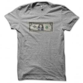 Shirt fallout dollar gris pour homme et femme