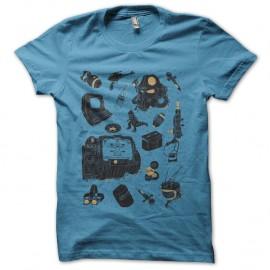 Shirt fallout accessoires turquoise pour homme et femme