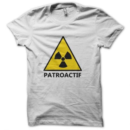 Shirt Patroactif blanc pour homme et femme