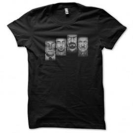 Shirt Breaking bad multi faces noir pour homme et femme