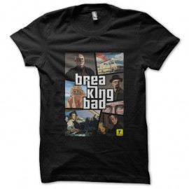 Shirt Breaking Bad GTA noir pour homme et femme
