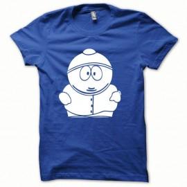 Shirt Parodie Cartman blanc/bleu royal pour homme et femme