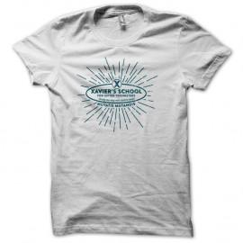 Shirt Xmen Xavier school blanc pour homme et femme