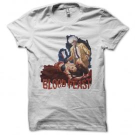 Shirt Blood Feast blanc pour homme et femme