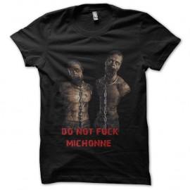 Shirt Don't Fuck Michonne noir pour homme et femme
