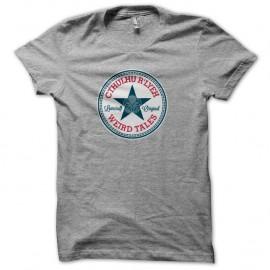 Shirt Converse Cthulhu lovecraft gris pour homme et femme