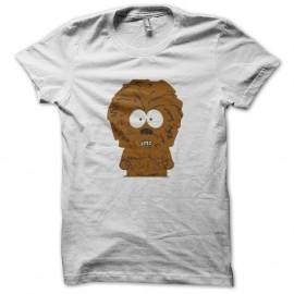 Shirt chewy south park blanc pour homme et femme