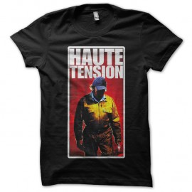 Shirt Haute Tension noir pour homme et femme