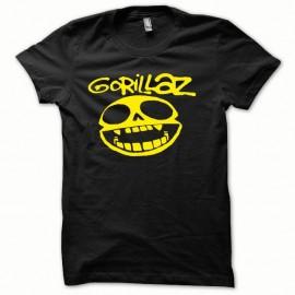Shirt Gorillaz jaune/noir pour homme et femme