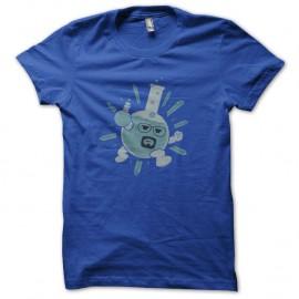 Shirt heisenberg et la chimie bleu pour homme et femme