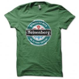 Shirt Heisenberg Premium Meth vert pour homme et femme
