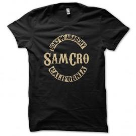Shirt samcro mix son of anarchy noir pour homme et femme