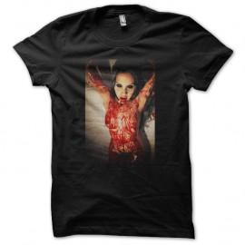 Shirt ange possession noir pour homme et femme