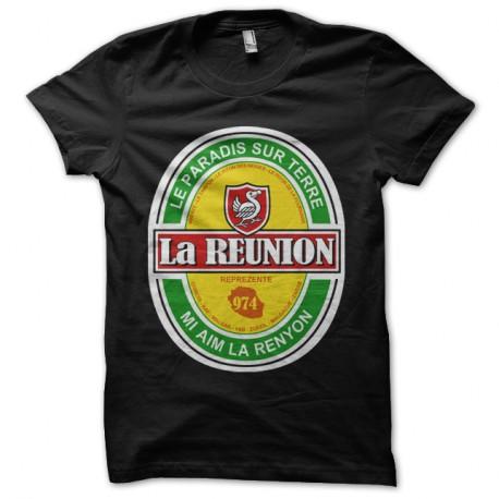 Shirt - La Réunion - Noir pour homme et femme