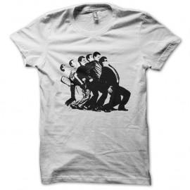 Shirt Madness blanc pour homme et femme