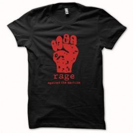 Shirt Rage Against The Machine rouge/noir pour homme et femme