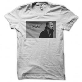 Shirt Breaking Bad Jesse Pinkman bitch blanc pour homme et femme
