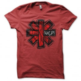 Shirt Red Hot Chili Peppers rouge pour homme et femme