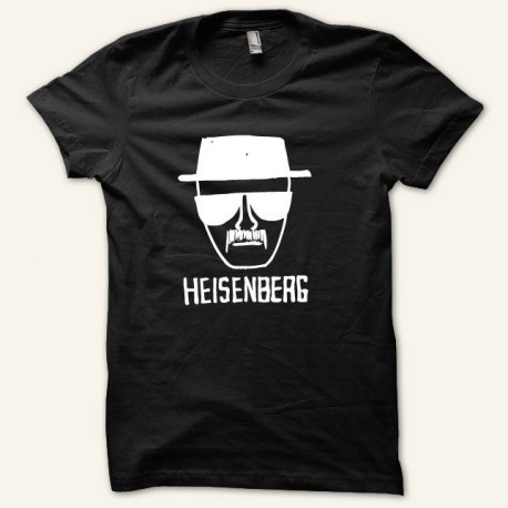 Shirt Breaking bad Heisenberg version normale blanc/noir pour homme et femme