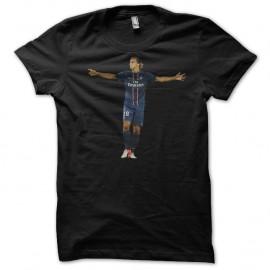 Shirt Ibrahimovic noir pour homme et femme