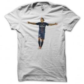 Shirt Ibrahimovic blanc pour homme et femme