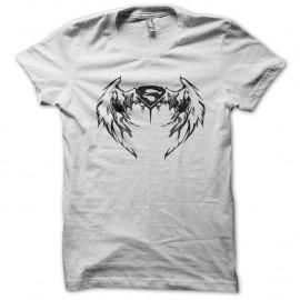 Shirt superman version ailes blanc pour homme et femme