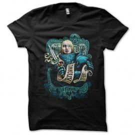 Shirt The maid of tarth noir pour homme et femme