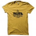 Shirt science albuquerque breaking bad jaune pour homme et femme