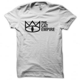 Shirt the cat empire blanc pour homme et femme