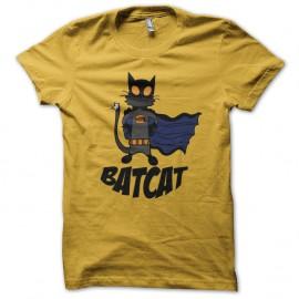 Shirt Bat Cat jaune pour homme et femme