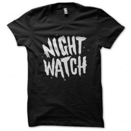 Shirt Night watch noir pour homme et femme