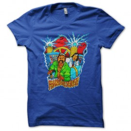 Shirt Steiner Brothers Frankensteiner bleu pour homme et femme
