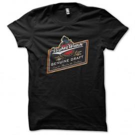Shirt Night watch beer noir pour homme et femme