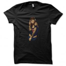 Shirt fille dans son delire noir pour homme et femme