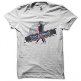 Shirt zlatan ibrahimovic blanc pour homme et femme
