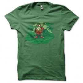 Shirt tortue genial mix tortues ninja vert pour homme et femme